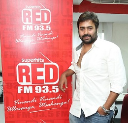 Nara Rohith at RED FM Photos