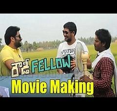 Rowdy Fellow Movie Making – Nara Rohit, Vishakha Singh