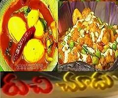 Mushroom Spring Onion Curry,Ulavacharu Kodi Guddu in Ruchi Chudu – 18th Sep
