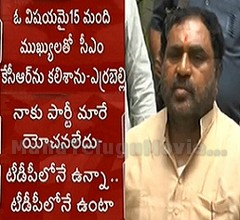 Errabelli Dayakar Rao Condemns Rumors on Changing Party