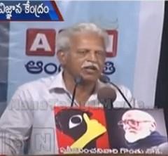 There are no hopes on KCR's rule – Varavara Rao