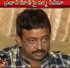 Ram Gopal Varma Check to Narendra Modi