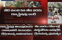 Land registration ban in AP