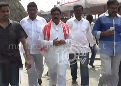 Insult to Lagadapati Rajagopal at Indrakeeladri