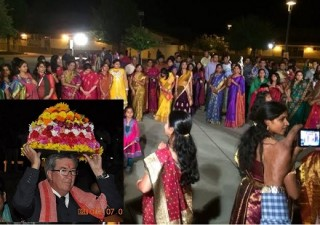 California Assemblyman participates in Bathukamma Celebrations