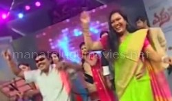 Hema and Sampoornesh Babu Dance Performance At Errabus Movie Audio Launch