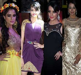 Celebs at The Pink Affair Fashion Show Photos