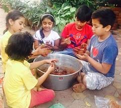 Pic Talk: Pawan's Kids Diwali Preparations