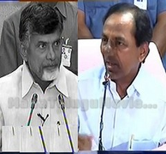 KCR rejects Chandrababu's offer of 300 MW of Power