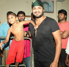 Manchu Manoj at Vizag Photos