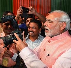 Prime Minister Narendra Modi turned Photographer
