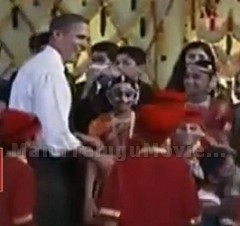 US President Barack Obama Dancing with students on Diwali Festival celebrations in White House