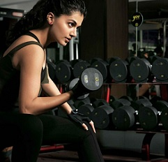 Pic Talk: Tapsee Caught Working Out