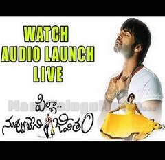 Pilla Nuvvuleni Jeevitham Audio Launch – Full Video