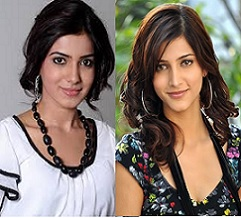 Shruti And Samantha Did Same Thing