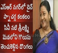 Actress Sri Lakshmi's Gold Chain Snatched