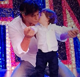 Shahrukh Son Abram Photos