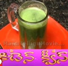 Green Juice recipe – Sweet Home 31st Oct