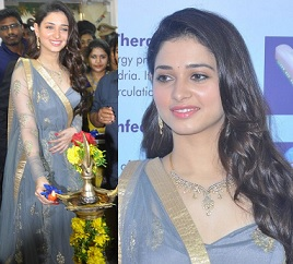 Actress Tamanna Launches 'Vcare Beauty Clinic' Stills