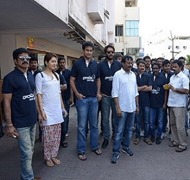 Sai Korrapati and Varahi Team at Vizag Photos