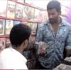 Vishal Raids Video Shop in Tirupur; Finds Pirated CDs of 'Poojai' and 'Kaththi'