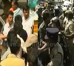 YSRCP, TDP activists clash in Vijayawada, lathicharged