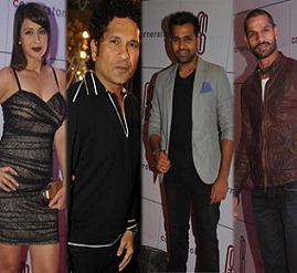 Celebs at Rohit Sharma Party Photos