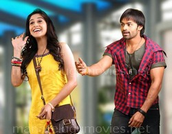 Regina Cassandra & Sai Dharam Tej in Geetha Arts Movie Stills