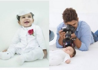 Allu Arjun Son Ayan – Children's Day Special Photoshoot