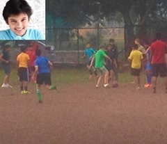 Spotted: Pawan's Son gets Football Coaching