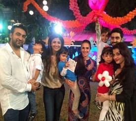 Aaradhya Bachchan Birthday Bash Photos