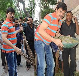 Boyapati Srinu Swatchha Bharat Photos