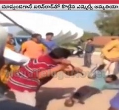 Gujarat BJP MLA beats youth with rod, Caught on Camera