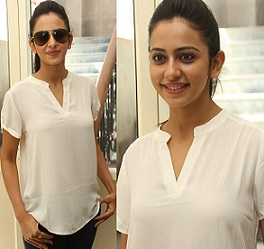 Rakul Preet Singh at Rough Theatre Coverage