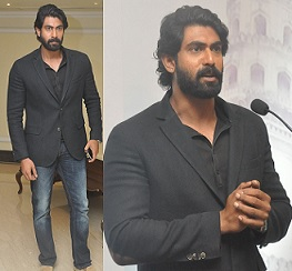 Rana at Yi-Youth Conclave Press Meet Photos