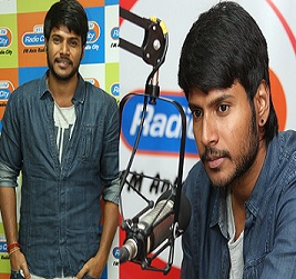 Sundeep Kishan at Radio City Studio Photos