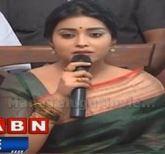 I'm feeling very lucky to be a part of Memu Saitham : Shriya Saran