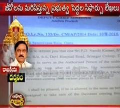 Controversy on KE Krishnamurthy Letter in TTD
