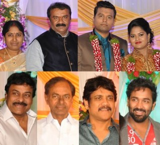 Celebs at Talasani Srinivas Yadav Daughter Reception – Gallery
