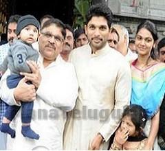 Allu Aravind Family Visits Tirumala Devasthanam