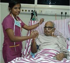Pic Talk: K Balachander On Hospital Bed
