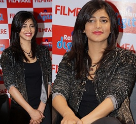Shruthi Hassan at Reliance Digital Filmfare Readers Meet