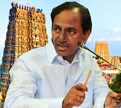 KCR's valuable offerings to Lord Venkateswara for Telangana