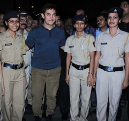 Special Screening of PK for Police Photos