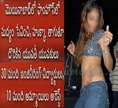 Another Rave Party Busted in Hyderabad