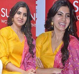 Samantha at Sunshine Centre Launch