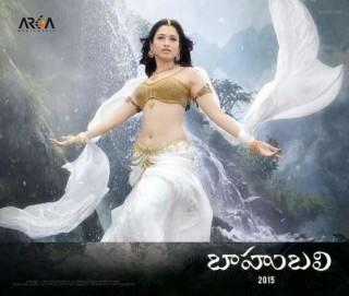 Tamanna First Look In Baahubali: She Is Angel