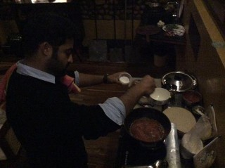 Pic Today: NTR Busy In Kitchen