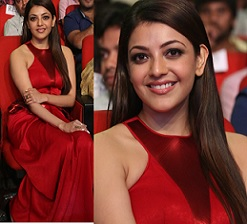 Kajal Agarwal at Temper Audio Launch