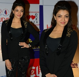 Kajal at Charity Dinner Event Stills